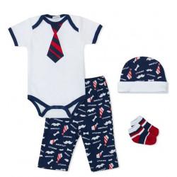 Mothers Choice 4 Piece Gift Set Little Man