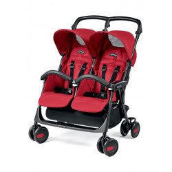 Peg Perego Aria Shopper Twin Mod Red