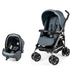 Peg Perego Pliko P3 Travel System Blue Denim