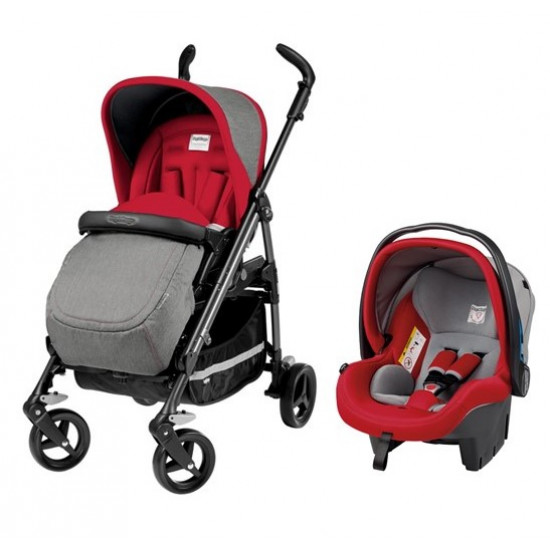 Peg Perego Si Switch Completo Travel System Tulip Display