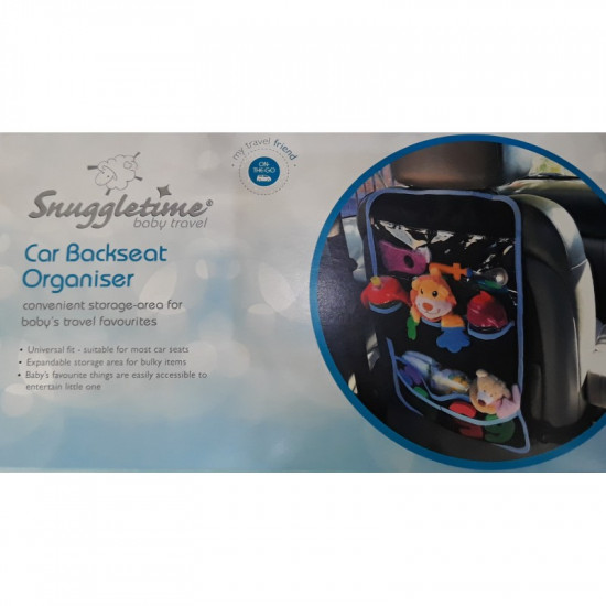Snuggletime Car Backseat Organiser