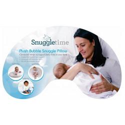 Snuggletime Plush Snuggle Up Nursing Pillow Grey
