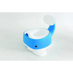 Snuggletime Whale Potty Blue