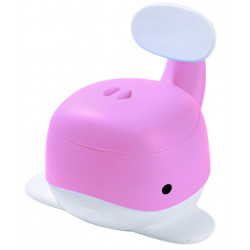 Snuggletime Whale Potty Pink