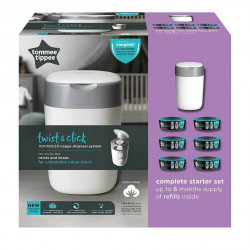 Tommee Tippee Twist and Click With 6 Refills