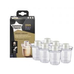 Tommee Tippee 6 Milk Powder Dispensers