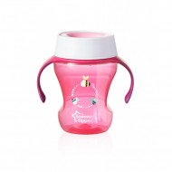 Tommee Tippee Explore 360 Trainer Cup, 6 Months, Pink