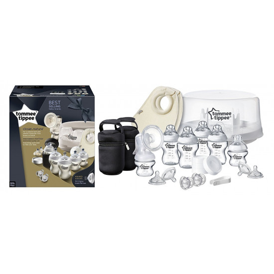 Tommee Tippee Microwave Steriliser and Breast Pump Set (Closer to Nature)