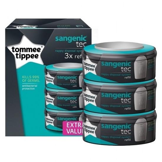 Sangenic Tec Refill Cassettes 3 Pack