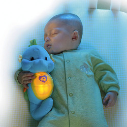 Fisher Price Soothe and Glow Seahorse Blue