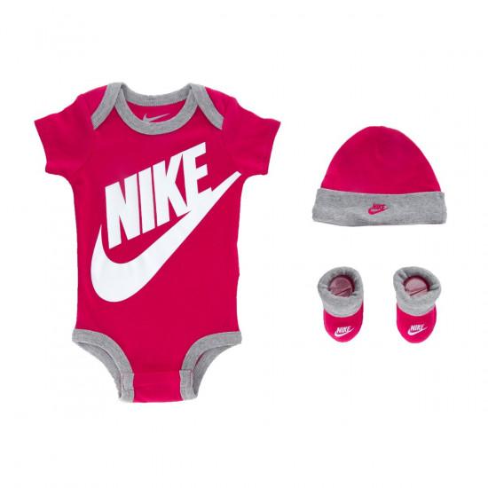 Nike Baby Girl 3 Piece Infant Set Futura