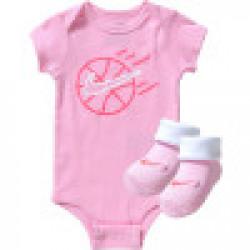 NIKE BABY GIRL 3-PIECE SET PINK