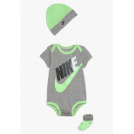 Nike Baby 3 Piece Futura Multi Set Dark Grey Heather